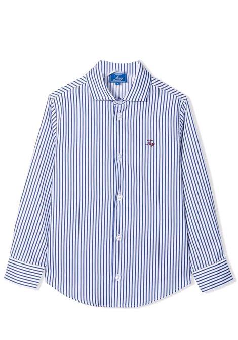Camicia a righe con logo FAY KIDS | 5P5010 P0017100BL