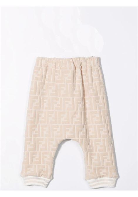 Pantaloni sportivi con motivo FF FENDI KIDS | BUF046 ACA8F0QB9