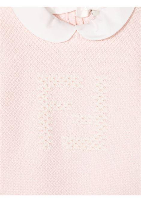 Newborn onesie with logo FENDI KIDS | BUG079F011