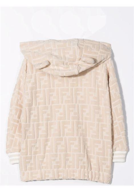 Newborn sweatshirt with FF logo FENDI KIDS | BUH031 ACA8F0QB9