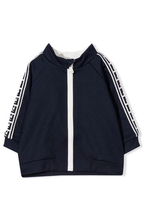 Sweatshirt with zip FENDI KIDS | BUH032 A69DF0QB0
