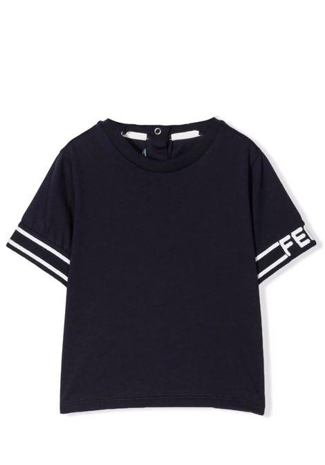 T-shirt con logo FENDI KIDS | BUI028 7AJF0QB0