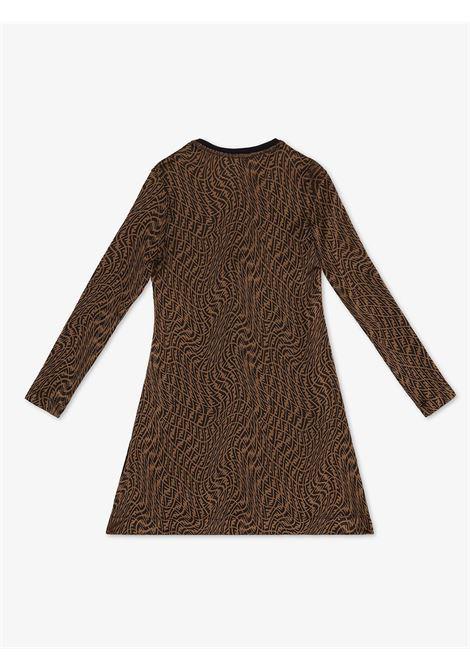 Dress with FF Vertigo logo FENDI KIDS | JFB474 AG1OF118W
