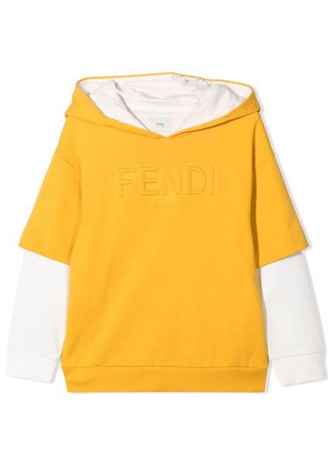 Hoodie FENDI KIDS | JMH147 5V0TF0LWV