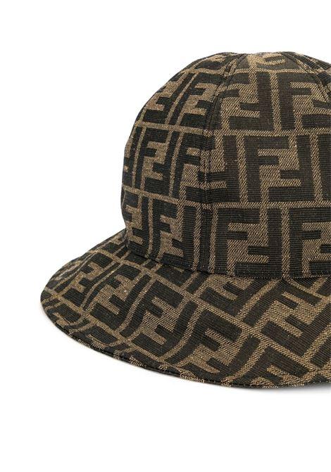 Cappello con monogramma FF FENDI KIDS | JUP009 AAQ1F15B6
