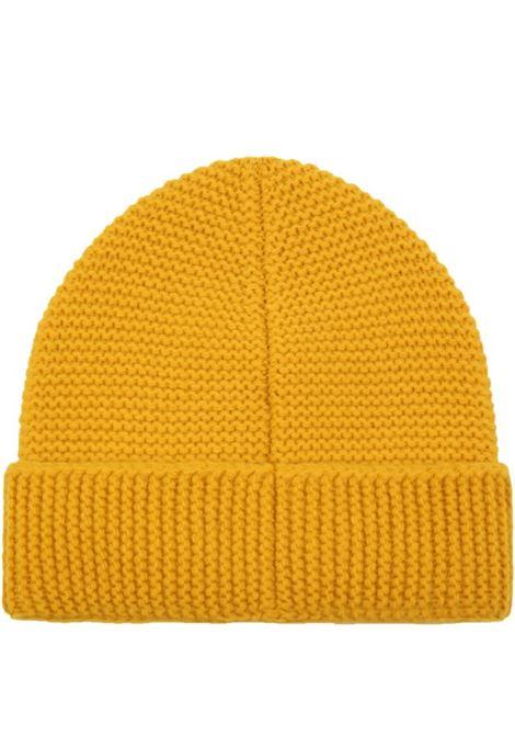 Yellow hat with logo FENDI KIDS | JUP027 AFOKF0QF1