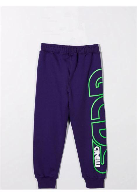 Pantaloni sportivi con stampa GCDS KIDS | 028480070