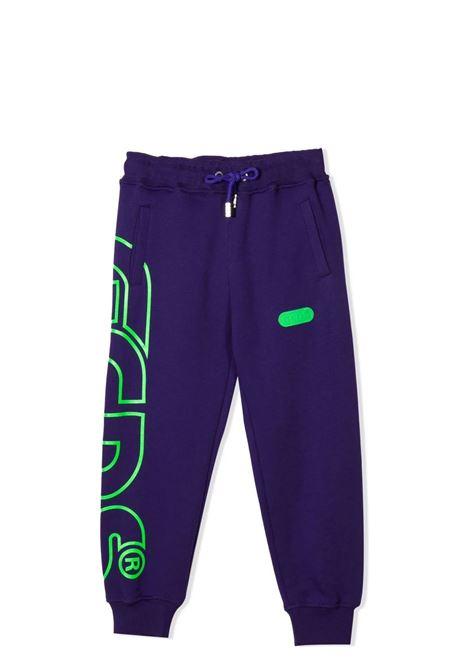Pantaloni sportivi con stampa GCDS KIDS | 028480T070