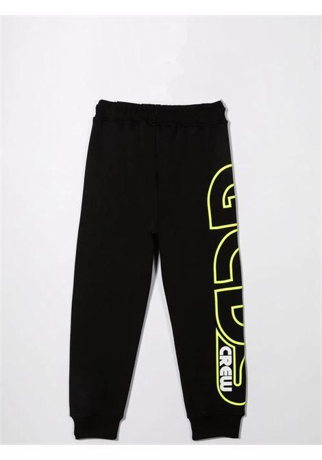 Pantaloni sportivi con stampa GCDS KIDS | 028480T110