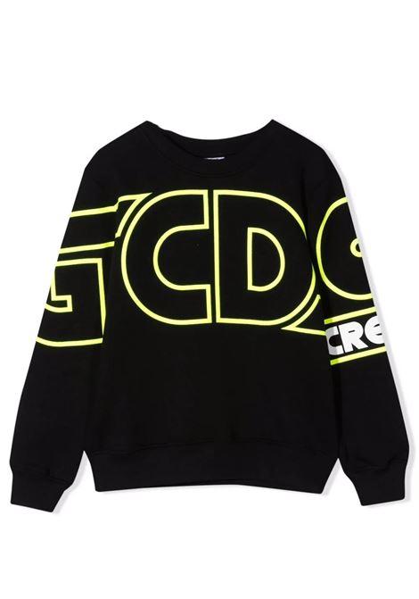 Felpa a girocollo con logo GCDS KIDS | 028481T110