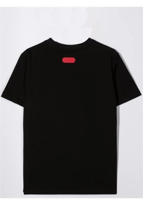 T-shirt con stampa GCDS KIDS | 028491110