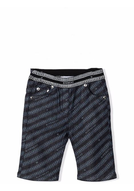 Newborn trousers with print GIVENCHY KIDS | H04111Z35