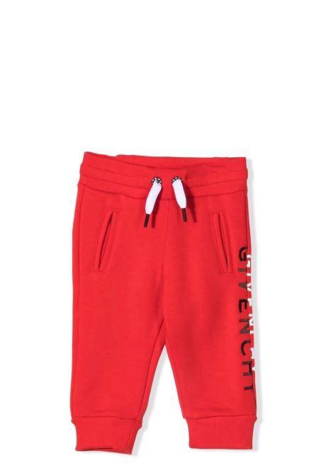 Newborn fleece trousers GIVENCHY KIDS | H04113991