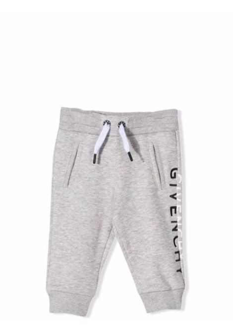 Sports trousers with print GIVENCHY KIDS | H04113A01