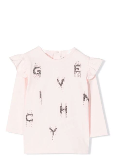 T-shirt with application GIVENCHY KIDS | H0517845S