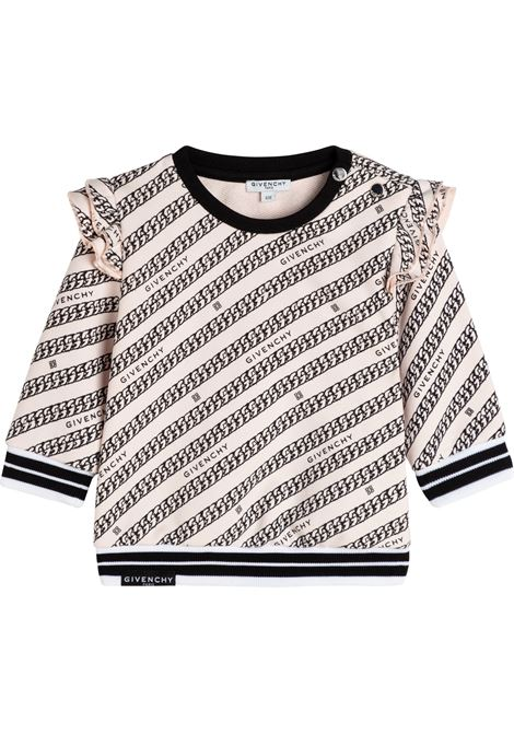 sweatshirt with print GIVENCHY KIDS | H05179S90