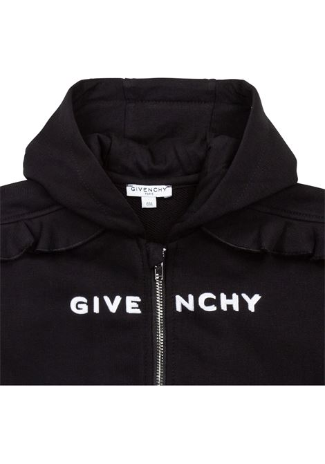 Sweatshirt with zip GIVENCHY KIDS | H0518109B
