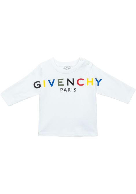 T-shirt with long sleeves GIVENCHY KIDS | H0518410B