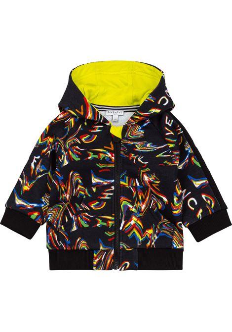 Sweatshirt with print GIVENCHY KIDS | H05192Z41