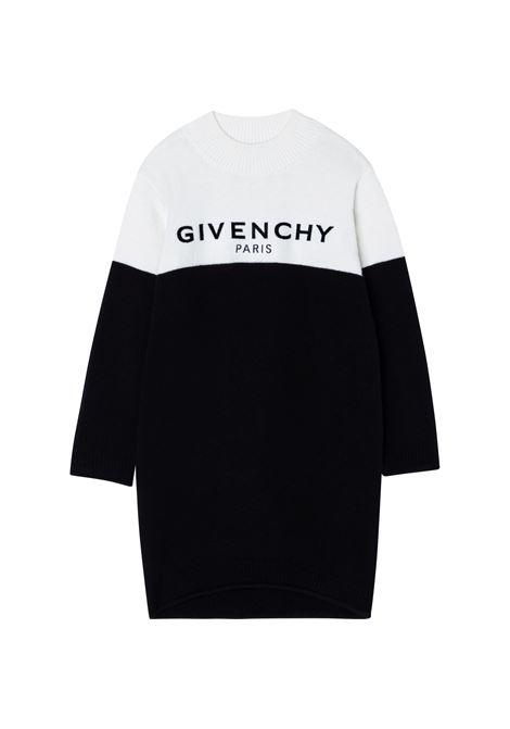 Sweatshirt dress with print GIVENCHY KIDS | H12175M41