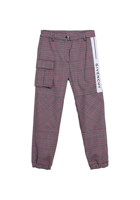 Trousers with logo GIVENCHY KIDS | H14137Z67