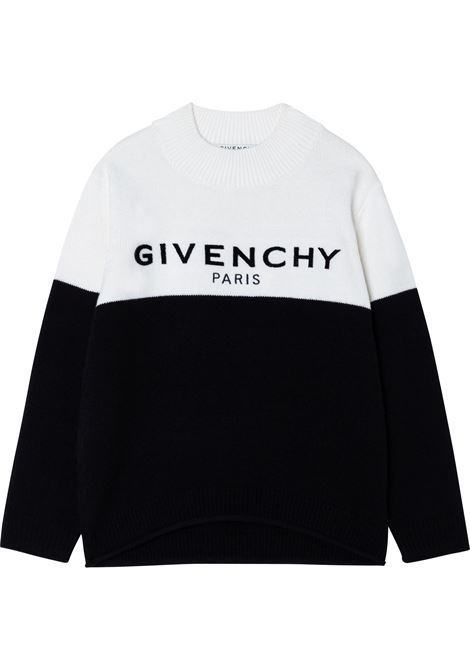 Pull con stampa GIVENCHY KIDS | H15221M41