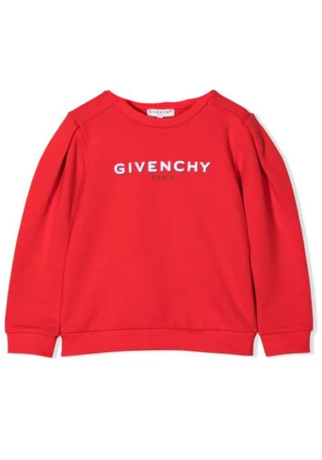 Little girl sweatshirt with print GIVENCHY KIDS | H15222991