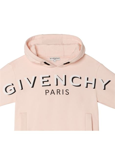 Felpa con stampa GIVENCHY KIDS   H1522345S