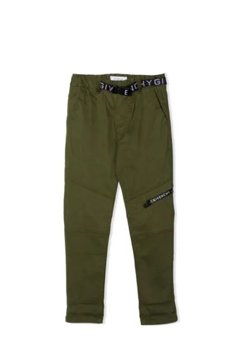Trousers with print GIVENCHY KIDS | H2413064B