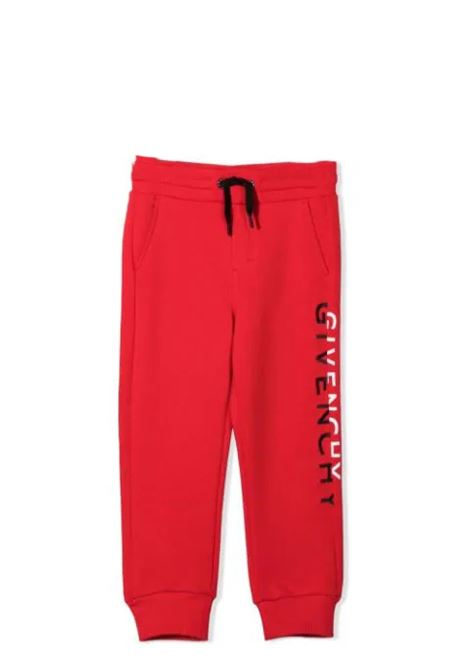 Sports trousers with print GIVENCHY KIDS | H24133991