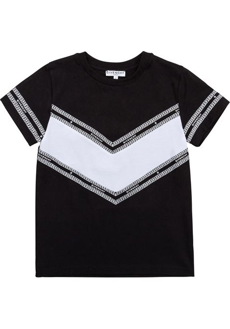 T-shirt with stamp GIVENCHY KIDS | H2528709B