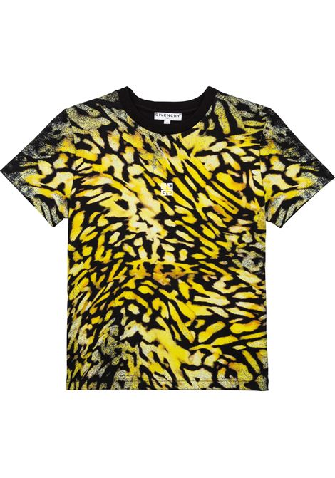 T-shirt con stampa GIVENCHY KIDS | H2529609B