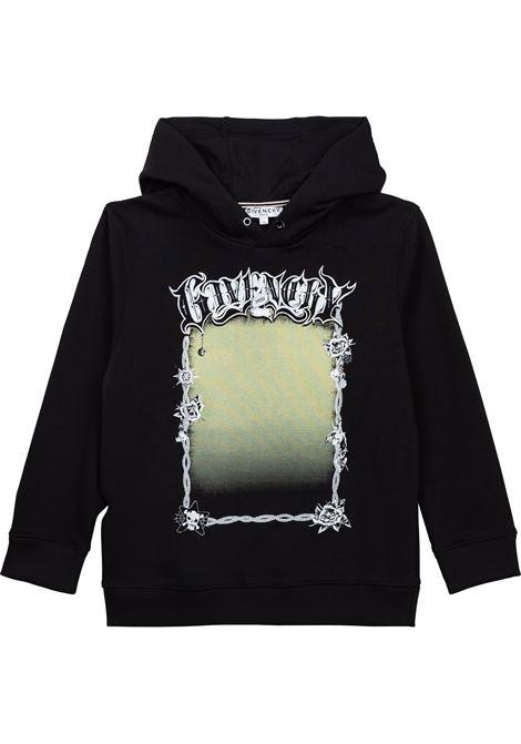 Sweatshirt with print GIVENCHY KIDS | H2529809B