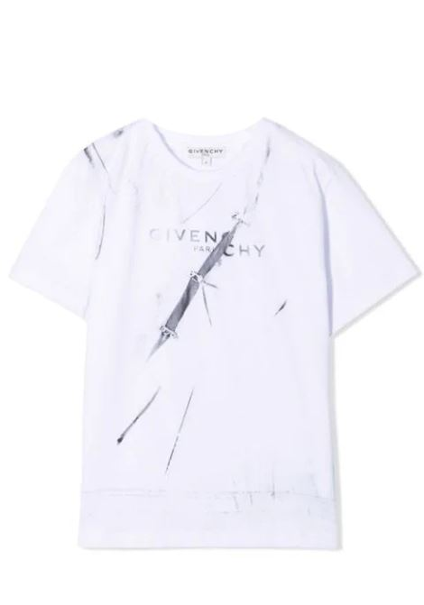 T-shirt with print GIVENCHY KIDS | H2530110B