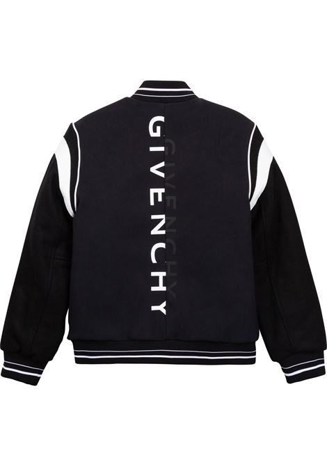 Bomber con zip GIVENCHY KIDS | H2607709B
