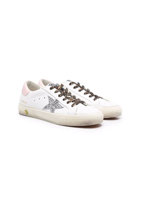 Sneakers Superstar con dettaglio glitter GOLDEN GOOSE KIDS | GTF00112 F00198910665