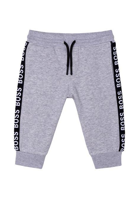 Pantaloni con banda laterale HUGO BOSS KIDS   J04413A32