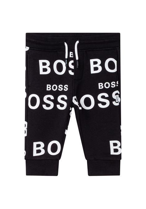 Pantaloni con scritte HUGO BOSS KIDS   J0441409B