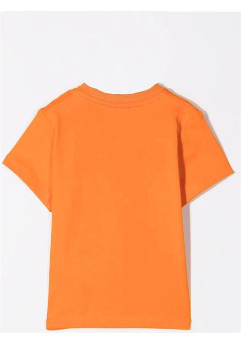 Newborn t-shirt with print HUGO BOSS KIDS | J05869401