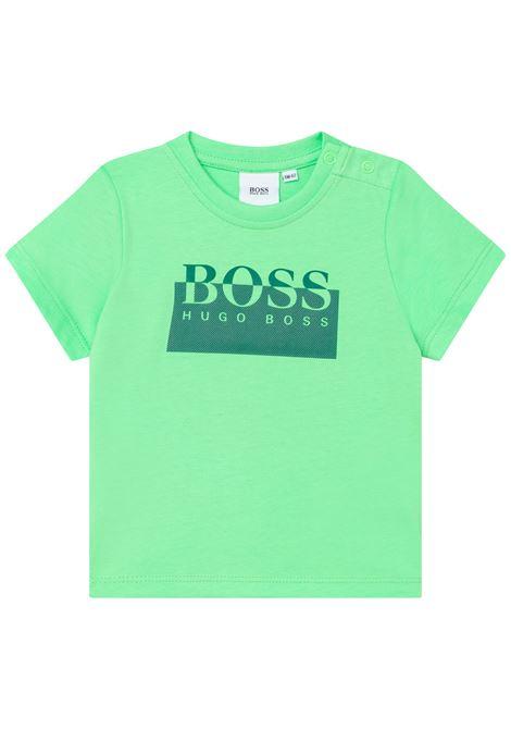 T-shirt with print HUGO BOSS KIDS | J05869730