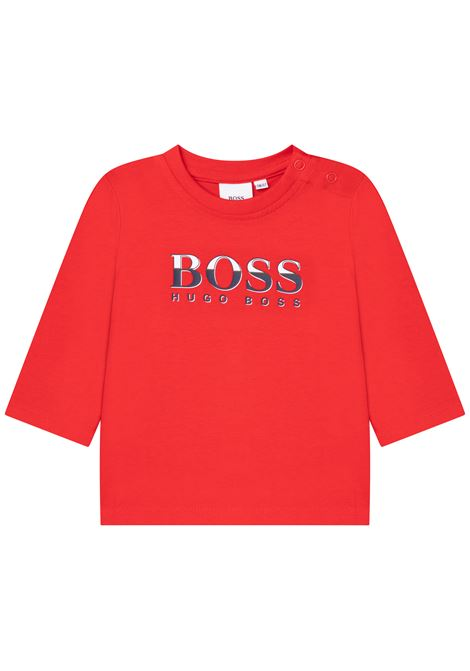 T-shirt with print HUGO BOSS KIDS | J0587197E