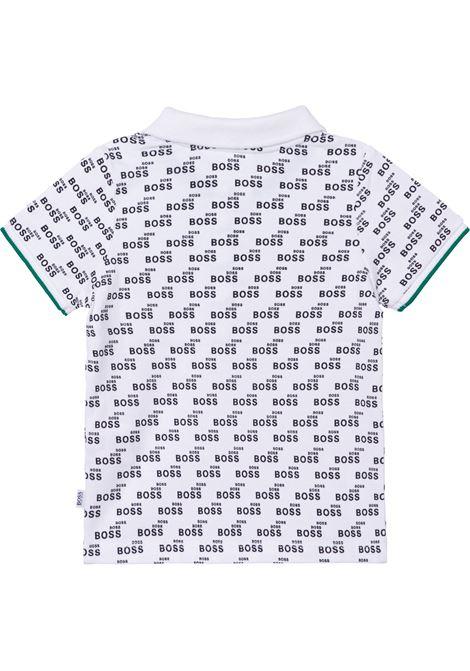 Polo shirt with print HUGO BOSS KIDS | J0588210B