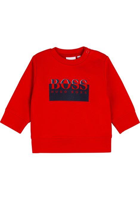 Sweatshirt with print HUGO BOSS KIDS | J0589397E