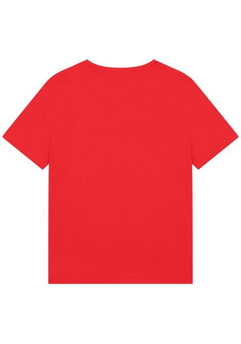 T-shirt con stampa HUGO BOSS KIDS | J25L5297E