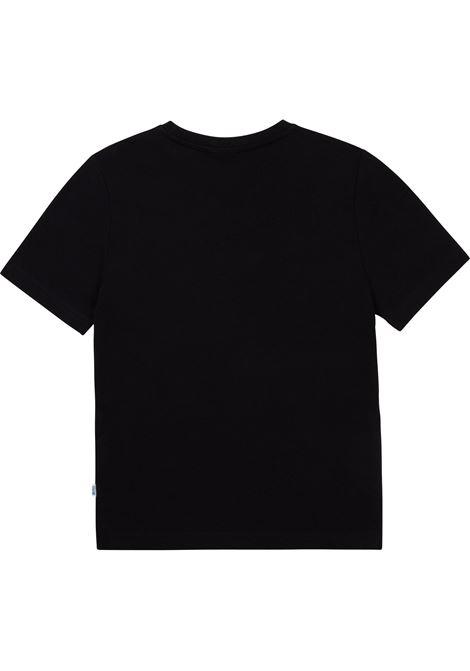 T-shirt con stampa HUGO BOSS KIDS | J25L6009B
