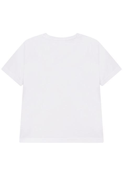 T-shirt girocollo con stampa HUGO BOSS KIDS | J25L7110B
