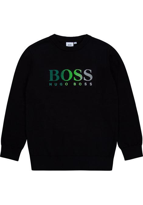 Sweatshirt with embroidery HUGO BOSS KIDS | J25L8809B