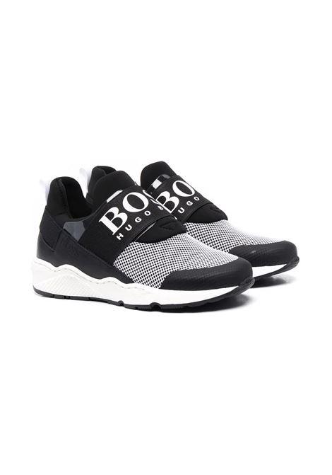 Slip-on sneakers with print HUGO BOSS KIDS | J2926009B