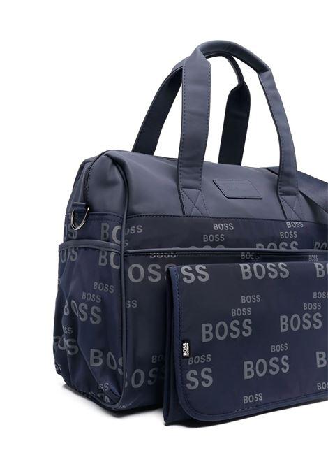 Blue changing bag HUGO BOSS KIDS | J90T95849