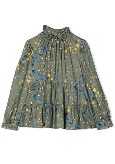 Floral blouse IL GUFO | A21CL198R4001547